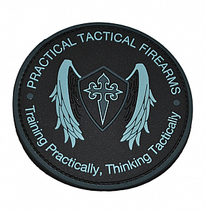 PRACTICAL TACTICAL PVC PATCH BLK