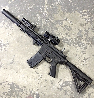 "Custom Shop VFC ""6mm Blackout"" with accessories"